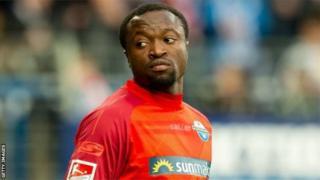 Bernard Tekpetey a aidé le SC Paderborn à monter en Bundlesliga.