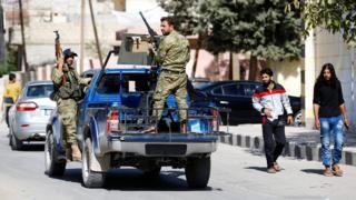 """Члены """"Сирийской свободной армии"""""""