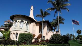 Donald Trump's Mar-a-Lago estate in Florida