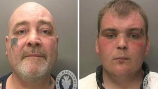 Anthony Potts, 49 and Nathan Potts, 26