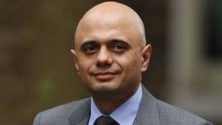 Chancellor Sajid Javid