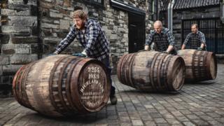 Highland Park barrels