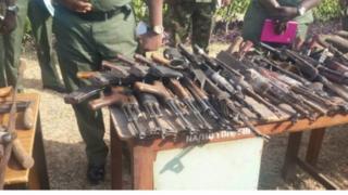 Nigeria, armes
