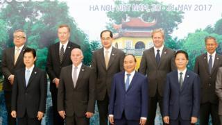 Các cuộc họp liên quan diễn đàn hợp tác kinh tế châu Á-Thái Bình Dương (APEC) vừa diễn ra ở Hà Nội