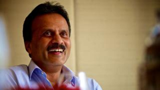 VG Siddhartha, founder-owner, Chairman and MD of Coffee Day Enterprises Limited, poses for a profile shoot on September 26, 2015 in New Delhi, India