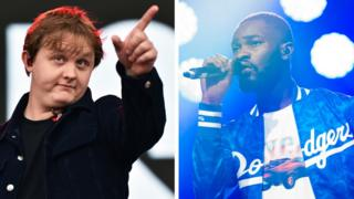 Lewis Capaldi and Dave