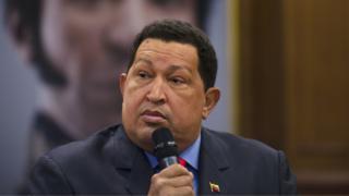 Hugo Chávez, ex-presidente da Venezuela. Ele morreu em 2013.
