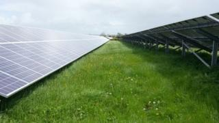 Generating enough electricity for almost 10,000 homes, the development will be Northern Ireland's biggest solar farm