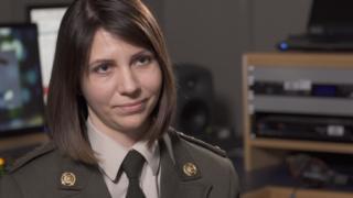 Валерія Романова - аташе з питань оборони при посольстві України в Російській Федерації