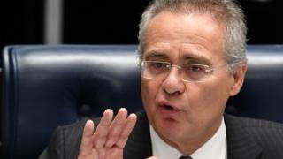 Brazilian Senate President Renan Calheiros