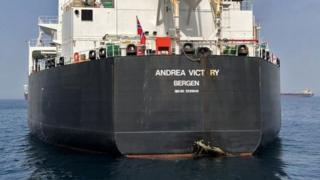 نفتکش نروژی آسیب دیده در حملات فجیره