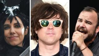 PJ Harvey, Ryan Adams and Future Islands frontman Samuel Herring