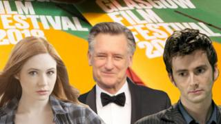 Karen Gillan, Bill Pullman and David Tennant