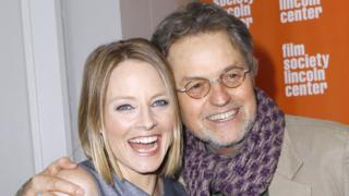 Jodie Foster with Jonathan Demme in 2011