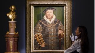 ภาพวาดเสมือนจริงของกษัตริย์เฮนรี่ที่ 8 แห่งราชวงศ์ทิวดอร์