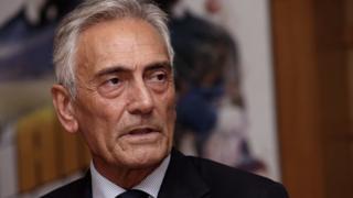 Gabriele Gravina, le président de la Fédération italienne de football