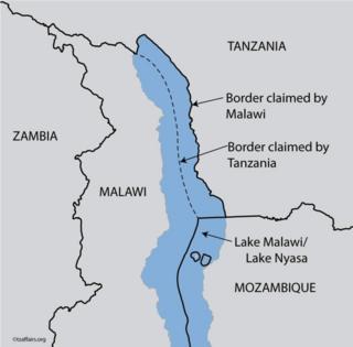 Ramani ya Tanzania inaonyesha kuwa eneo la Kaskazini Mashariki mwa ziwa hilo ni sehemu ya himaya yake.