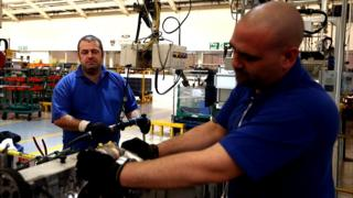 Staff at Ford in Dagenham