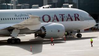 پروازها بین قطر و عربستان سعودی، مصر، بحرین و امارات متحده عربی متوقف شده است