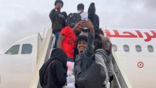 Walioondoshwa Libya ni raia kutoka mataifa ya Eritrea, Ethiopia, Sudan