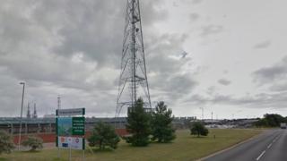 Bacton gas terminals site