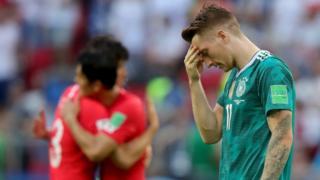 Bất ngờ lớn nhất, Đức bị Hàn Quốc hạ 2-0, chính thức thành cựu vương.