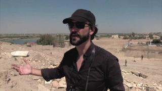 O fotojornalista Ricardo Garcia Vilanova, que foi sequestrado pelo Estado Islâmico na Síria e libertado oito meses depois, na fronteira com a Turquia