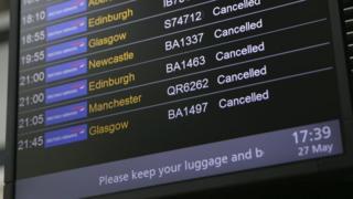 British Airways сбой 27 мая