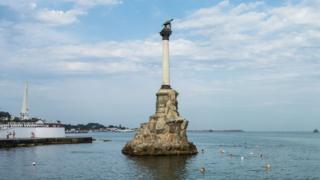 Sevastopol's Monument to Sunken Ships