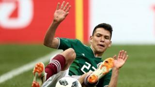 Hirving Lozano fue el autor del gol a Alemania
