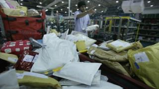 Royal Mail sorting facility