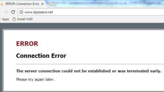 """مصر تحجب مواقع إلكترونية قطرية لـ """"دعمها الإرهاب"""""""