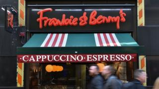 Frankie & Benny's restaurant in London