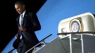 Igihe prezida Obama yagendera Kenya