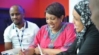 Ma'aikatan BBC Abuja