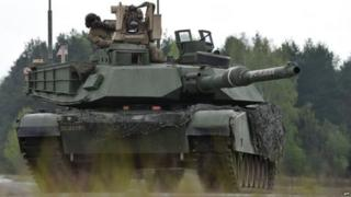 पोलैंड में अमरीका सेना