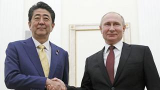 Абэ и Путин
