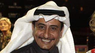 Saudi actor and comedian Nasser al-Qasabi