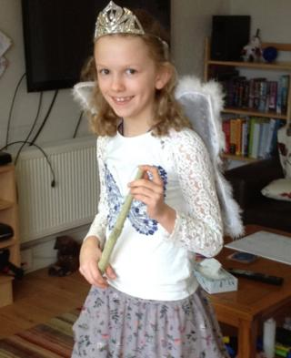 Ten-year-old Holly from Chorley