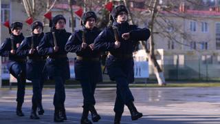 Call-up of conscripts, Sochi, Russia, 2019