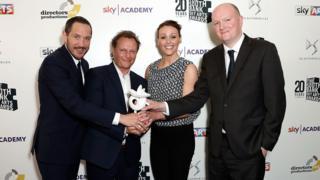 Doctor Foster stars Bertie Carvel, Neil Stuke and Suranne Jones with writer Mike Bartlett