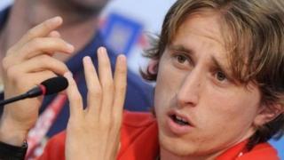 Modric est l'un des potentiels concurrents de Messi et Ronaldo pour le Ballon d'Or.