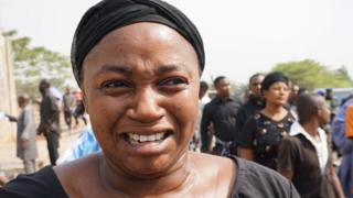 Woman dey cry for mass burial for Benue State