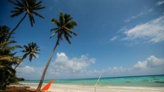 Zanzibar beach.