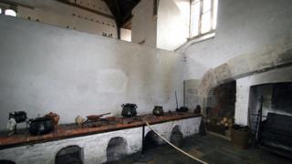 Кухня во дворце Хэмптон-корт