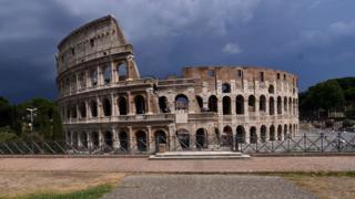 Roma'daki Kolezyum