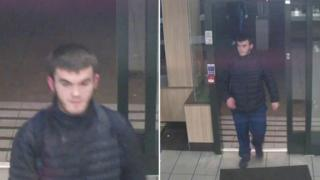 CCTV images of man