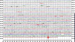A British Geological Survey seismograph