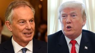 Tony Blair bác bỏ cáo buộc rằng ông từng cảnh báo cho gia đình Donald Trump