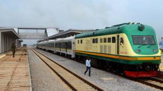 Abuja-Kaduna railway station